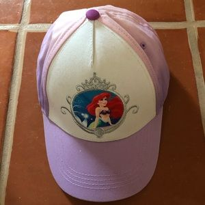 Little Mermaid Baseball Cap NWOT